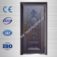 French style steel security front door with various designs BT-S202