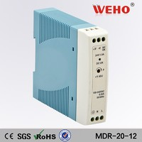 CE RoHs approved 2 years warranty din rail 20w mode power supplier