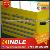 2013 hot selling stainless rolling truck toolbox drawers and hinge with high quality