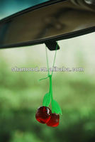 Cherry Shap Plastic Gel Hanging Car Air Freshener