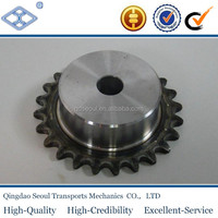 "OEM/ODM standard stainless steel pitch 19.05mm 60B roller chain 23T 3/4"" convex drive sprocket"