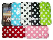 Cellular Phone Polka Dot Case For SamSung i8530 Galaxy Beam