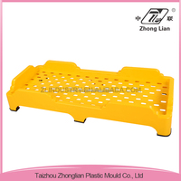Sleeping school cheap children colorful plastic stackable cot bed