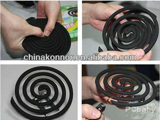 China Konnor Smoke Free Mosquito Coil Black Mosquito Coil Unbreakable Nice Fragrance Smell