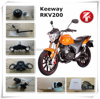 best selling Keeway RKV200 parts, motorcycle spare parts for Keeway RKV200