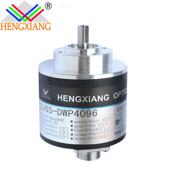 8mm shaft absolute encoder SJ65 rotary principle 6bit DC24V