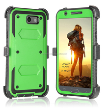Heavy Duty Rugged Full-Body Armor Holster <strong>Case</strong> For Galaxy J7 2017/J7 Perx/J7 Sky Pro/J7 Prime Skin Cover