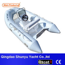 CE certificate professional hypalon boat China manufacturer inflatable boats for sale