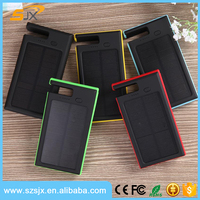 2016 coming 8000Mah solar power bank for tablet PC,phone and laptop