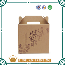 Fruit packaging high quality kraft corrugated paper custom colorful printing avocado box