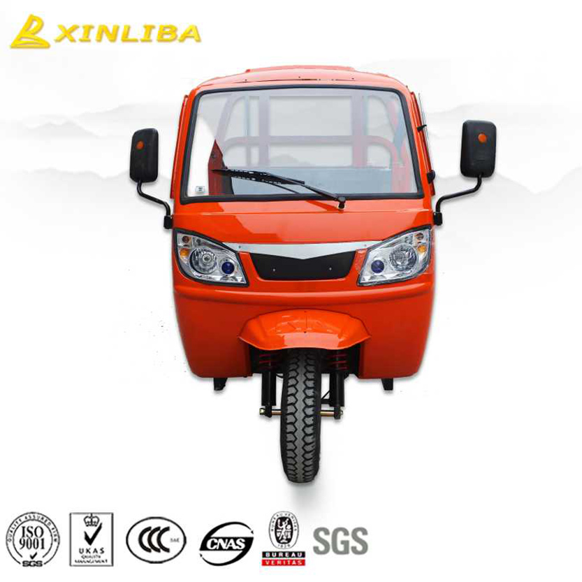 hot sale factory supplier 300 cc trike with roof