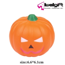 Halloween Decorative Fake Vegetables Artificial PU Foam Pumpkin