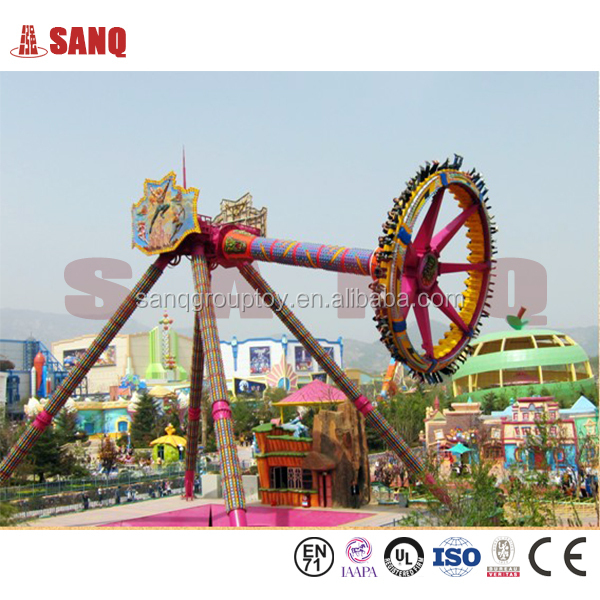 Crazy Theme Park Equipment Crazy Outdoor Games Sale Big Pendulum Swing Amusement Ride