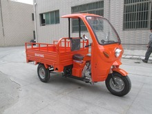 Three Wheel Motorcycle / Moto Triciclo With Cabin Heavy Load China Supplier