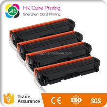 Compatible toner cartridge for HP 201X 201A CF400X CF401X CF402X CF403X FOR HP Laserjet Pro M252dw MFP M277dw at factory price