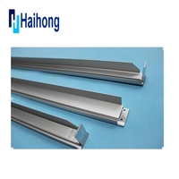 Anodized Sandblasting silver Aluminum Profiles Used as Solar Panel Frame