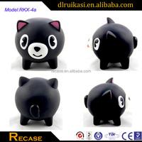 Cutsom small floating rubber animal bath toy for kid
