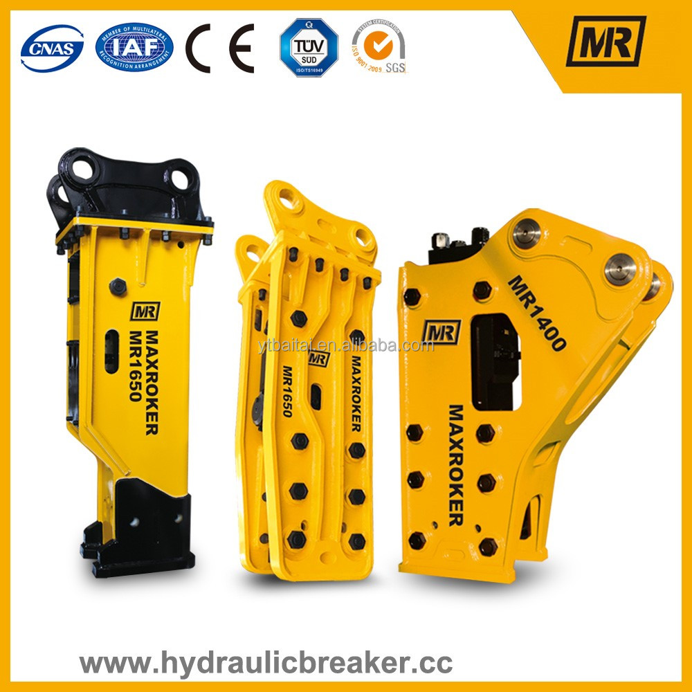 MR1400 hydraulic hammer bead breaker