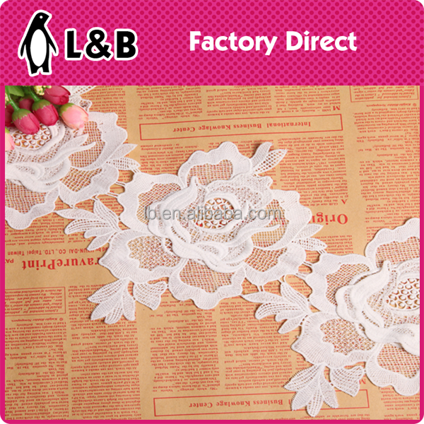 lace embroidery designs polyester crochet elastic trim