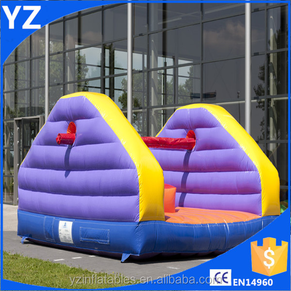 Funny inflatable pillow bash,inflatable Pole Joust game,inflatable pillow fight
