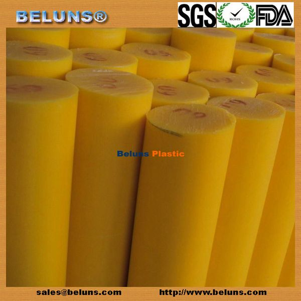 100% virgin ptfe rod (pp pe nylon and so on)