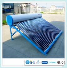 Stainless Steel Compact Non-pressurized Solar Water Heater with electric heater and controller