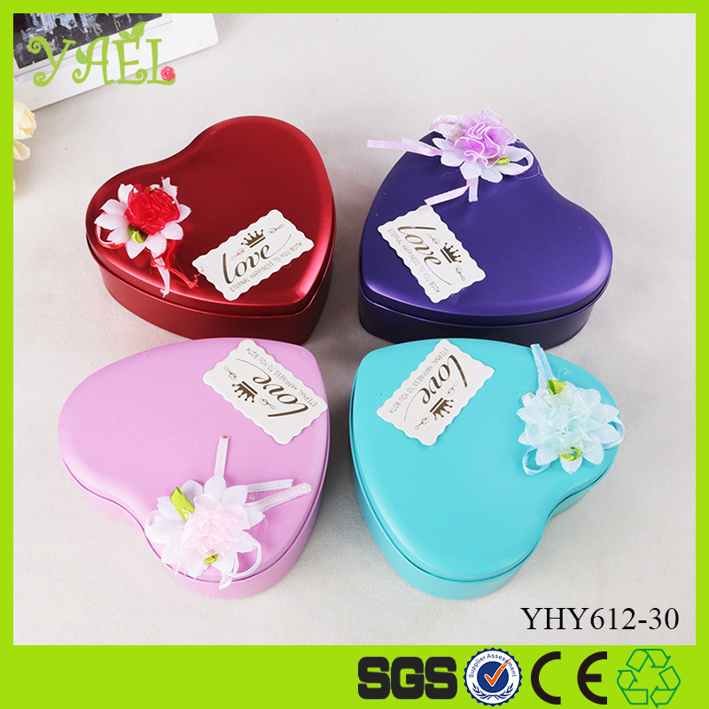 valentine's day gifts heart shaped tin box 3 pieces rose shaped soap flowers with one teddy bear