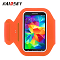 HAISSKY colorful sports arm band,outdoor sports running phone armband