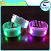 Access control Party Club Concert Music LED flashlight NFC festival wristbands for sale