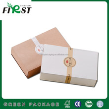 Elegant High Quality Fashion Custom Packaging for hand made soaps packaging with wonderful printing logo