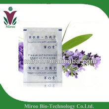 supplier natural herbal lavender junong detox foot patch/ happy life sleep foot plaster with CE approved