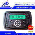 HOT SELLING AND NEW DESIGN for oblong waterproof marine stereo with USB/AUX/BT/AM/FM/UV Stable