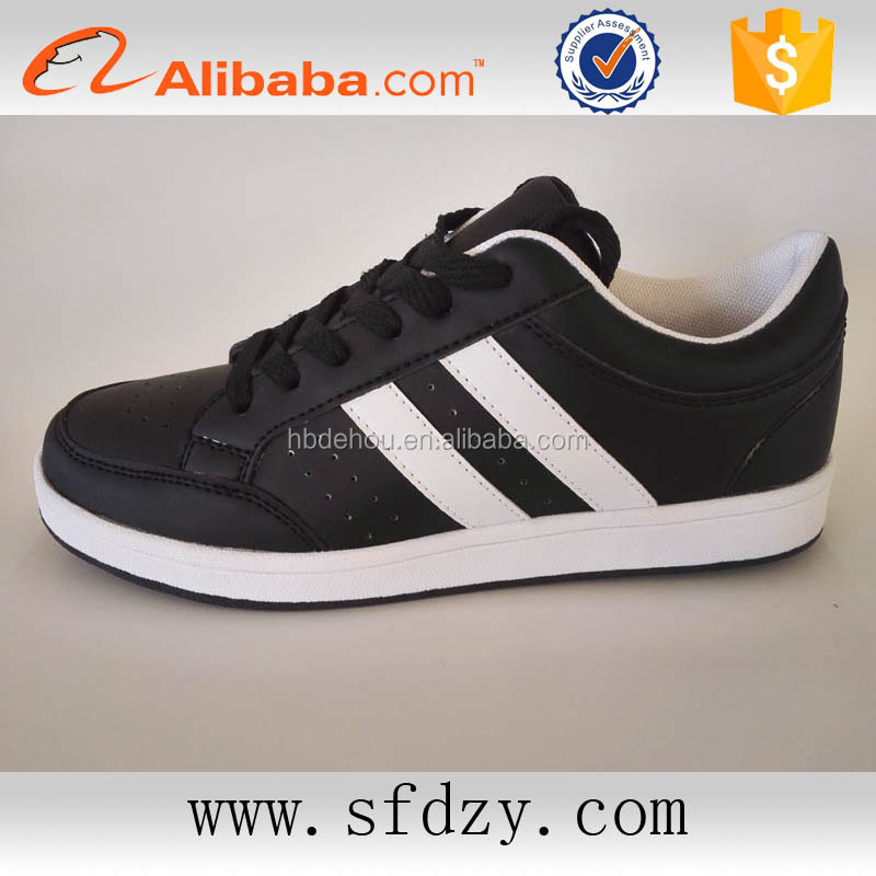 High quality pu leather shoes men sneakers shoes 2016 alibaba express