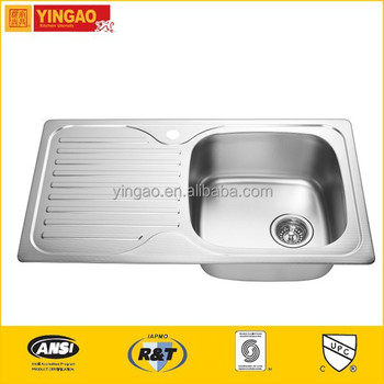 8650A New design stainless steel commercial sinks