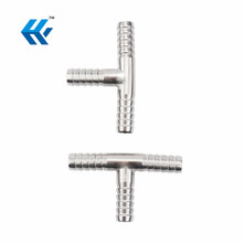 Tee 3-Way Hose Barb Connector Fittings 8mm y tee pipe fitting