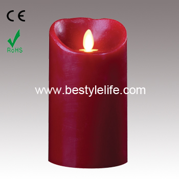 artificial flame luminaria LED candle with remote control