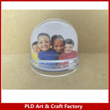 Kids Frame,Child Frame,Family Frame/Plastic Photo Snow Globe dome