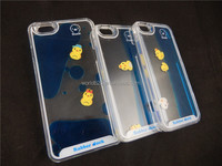 In store eBay hotsale smart duck 3d flowing tpu case for iphone 6/6s/6s plus