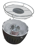 Portable mini Smokeless Outdoor bbq grill for indoor and outdoor use