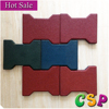 outdoor safety rubber flooring paver/tile for outdoor walkway