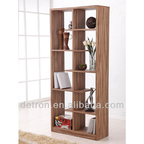 Walnut Display Shelf / Bookcase / Room Divider display stand for bookcase AE-114
