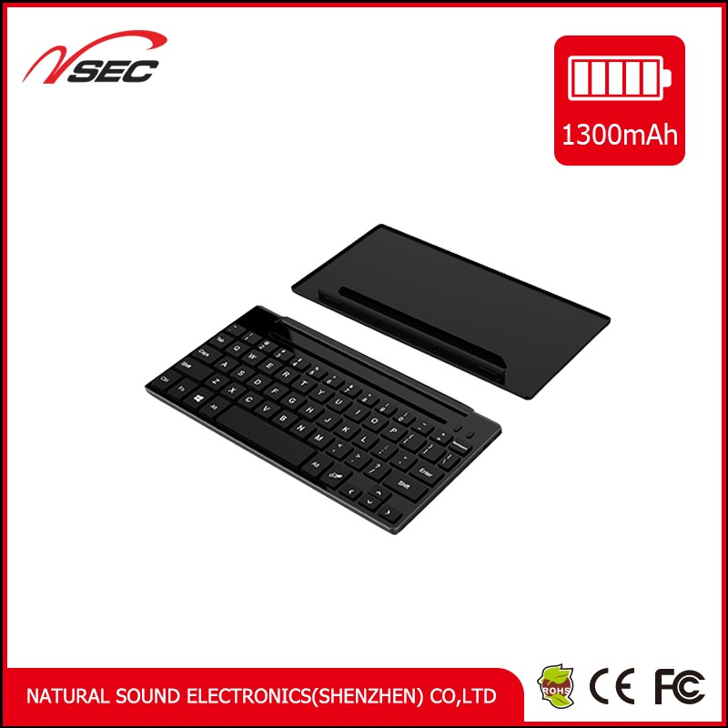 Folding wireless bluetooth mouse and bluetooth 4.0 keyboard