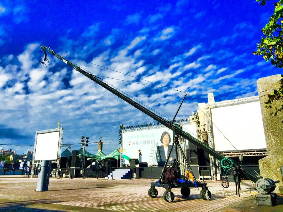 camera crane jimmy jib EXtreme plus