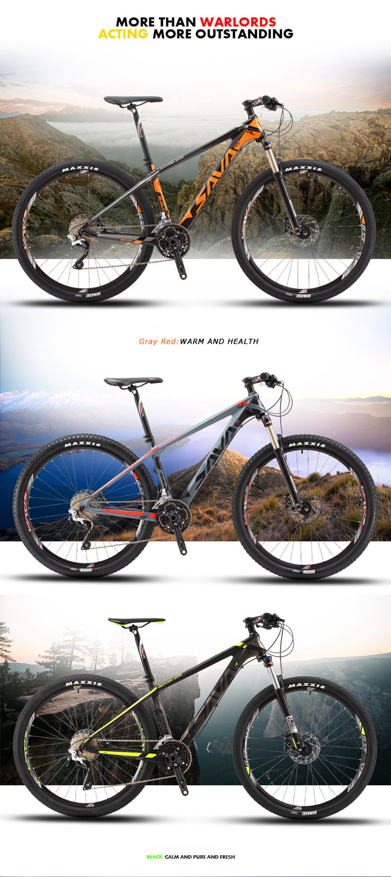 SAVA DECK bike carbon full suspension mountain bike for sale best quality OEM manufacturer factory mountain bike