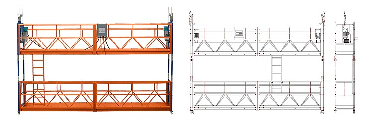ZLP 250 hanging working platform scaffolds