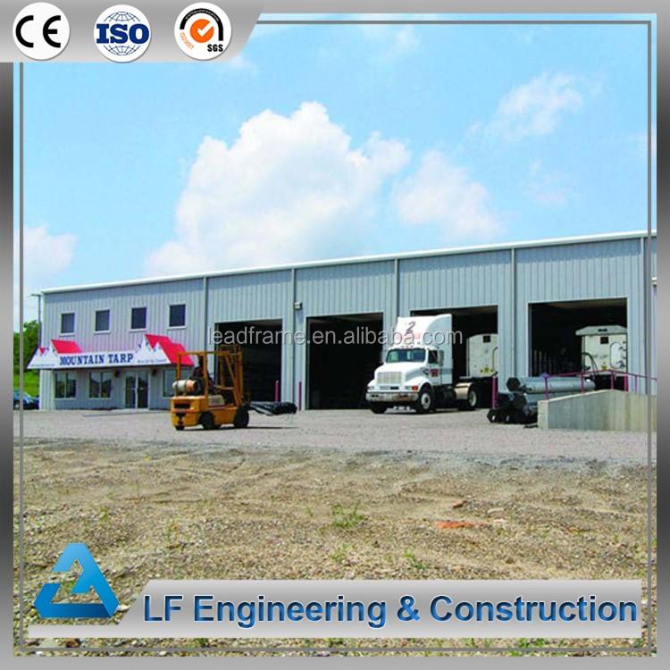 Precio Base Prefabricado Edificio De Acero Metal Garaje