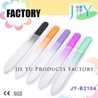 Wholesale glass nail files for nail art