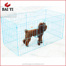 BAIYI Pretty Durable Whloesale Chain Link Fence Pet Baby Dog Cage Run