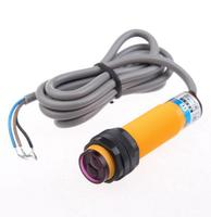 E3F-DS10Y2 M18 90-250V AC 10cm Sensor NC 2 Wire Diffuse Photoelectric Switch
