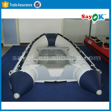 Cheap korea rigid inflatable boat used inflatable pontoon boats
